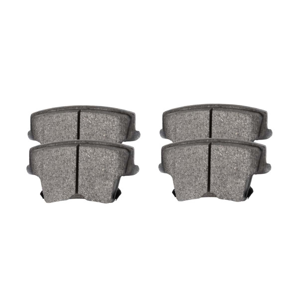 Rear Ceramic Brake Pad Set - Part # SCD1057