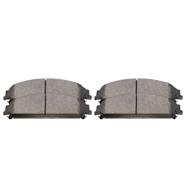 Front Ceramic Brake Pad Set - Part # SCD1058