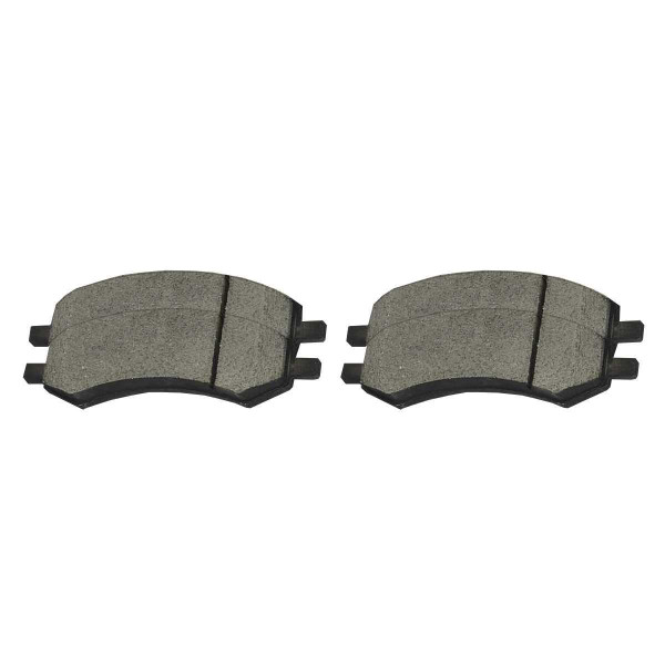 Front Ceramic Brake Pad Set - Part # SCD1084