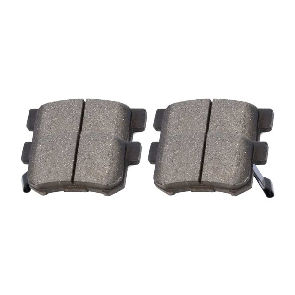 Rear Ceramic Brake Pad Set - Part # SCD1086