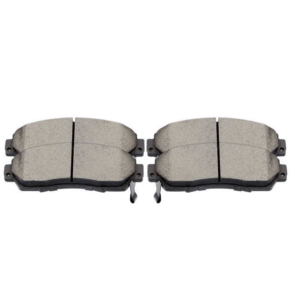 Front Ceramic Brake Pad Set - Part # SCD1089