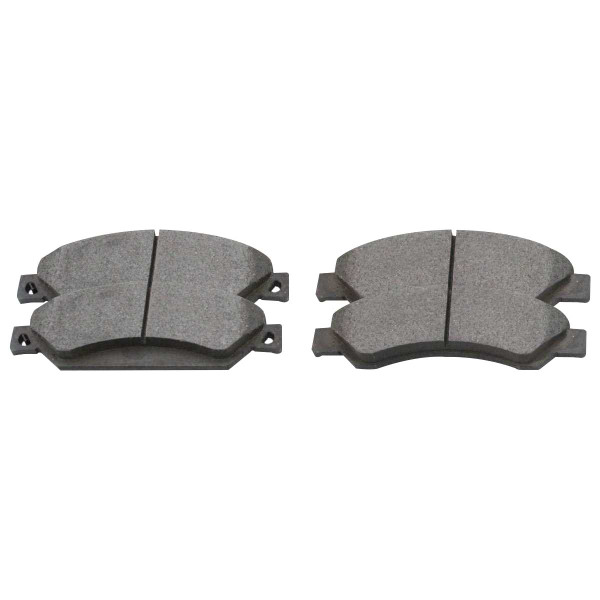 Front Ceramic Brake Pad Set - Part # SCD1092