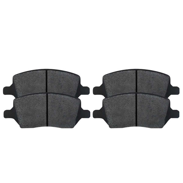 Rear Ceramic Brake Pad Set - Part # SCD1093