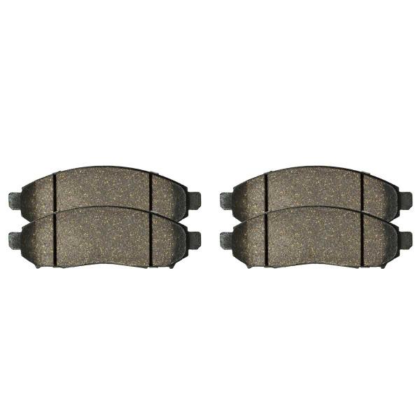Front Ceramic Brake Pad Set - Part # SCD1094