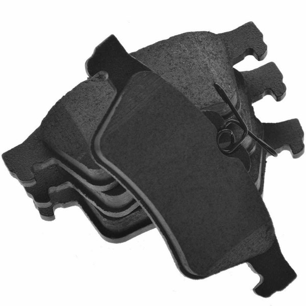 Rear Ceramic Brake Pad Set - Part # SCD1095
