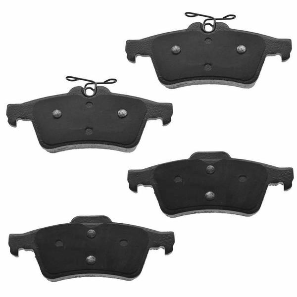 Rear Ceramic Brake Pad Set - Part # SCD1095
