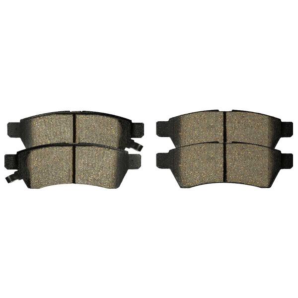 Rear Ceramic Brake Pad Set - Part # SCD1100