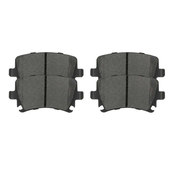 Rear Ceramic Brake Pad Set - Part # SCD1108