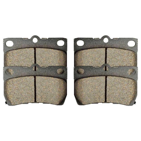 Rear Ceramic Brake Pad Set - Part # SCD1113