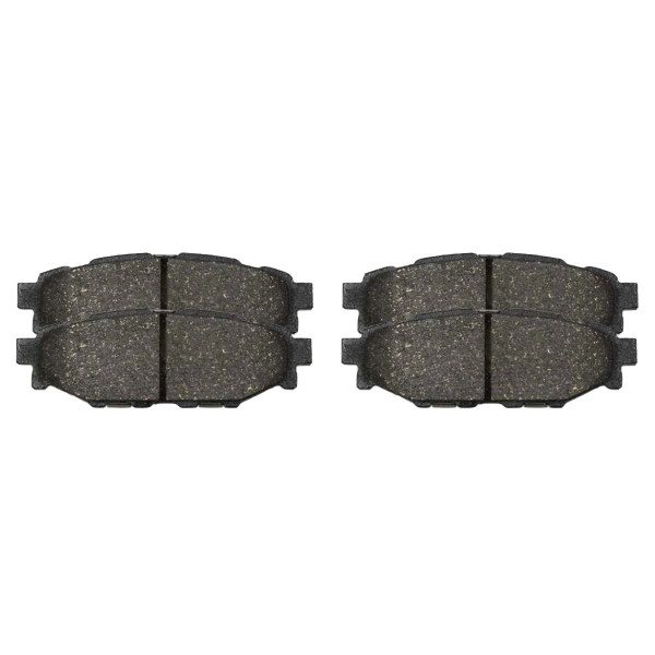Rear Ceramic Brake Pad Set 4 Wheel Disc - Part # SCD1114