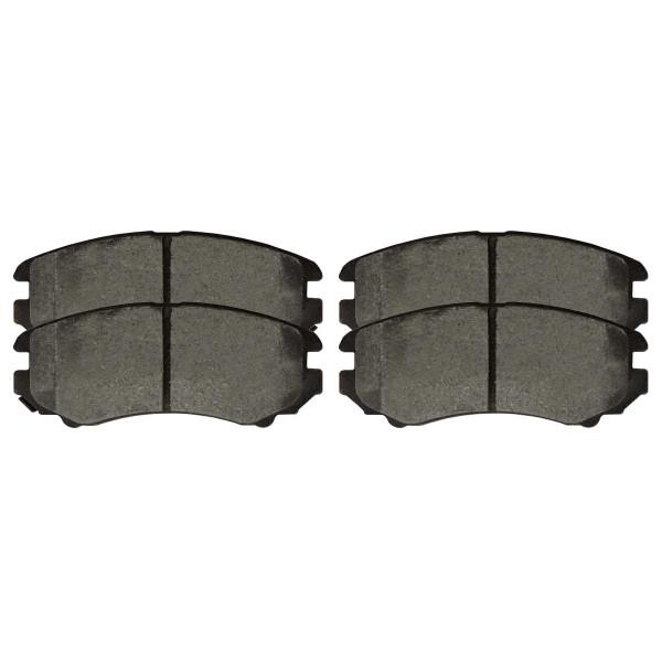 Front Ceramic Brake Pad Set - Part # SCD1125