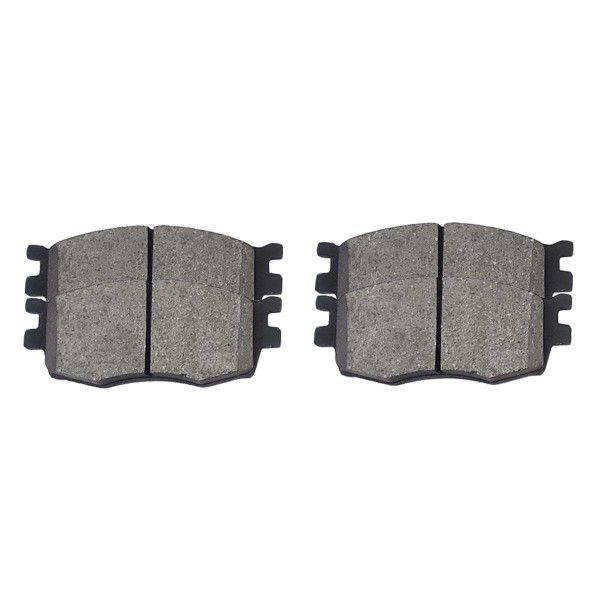 Front Ceramic Brake Pad Set - Part # SCD1156