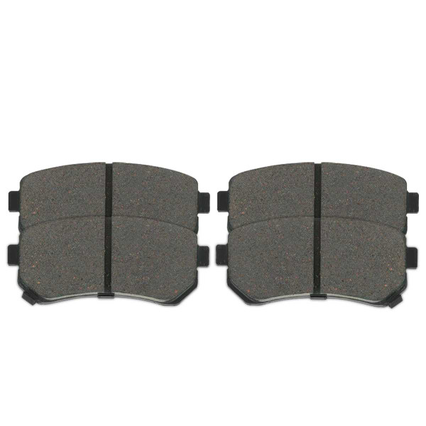 Rear Ceramic Brake Pad Set 4 Wheel Disc - Part # SCD1157