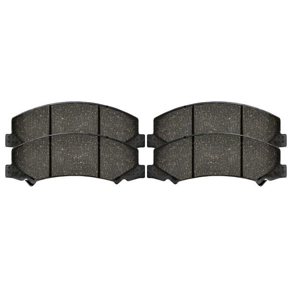 Front Ceramic Brake Pad Set - Part # SCD1159