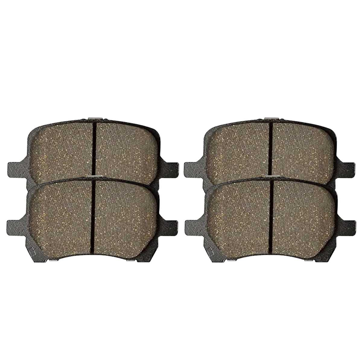 AutoShack PCDR63040630401285 Front Brake Rotors and Performance Ceramic Pads