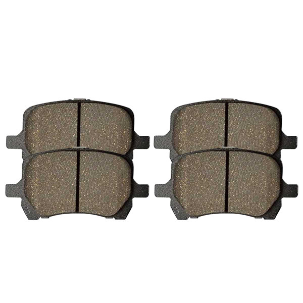 Front Ceramic Brake Pad Set - Part # SCD1160