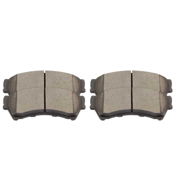 Front Ceramic Brake Pad Set - Part # SCD1164