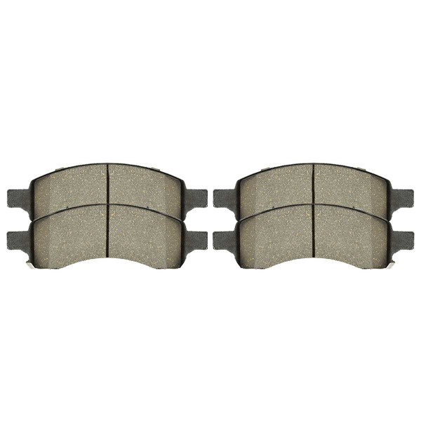 Front Ceramic Brake Pad Set - Part # SCD1169