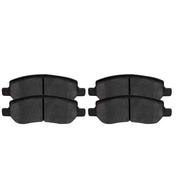 Rear Ceramic Brake Pad Set - Part # SCD1172