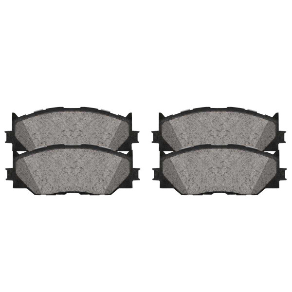 Front Ceramic Brake Pad Set - Part # SCD1178