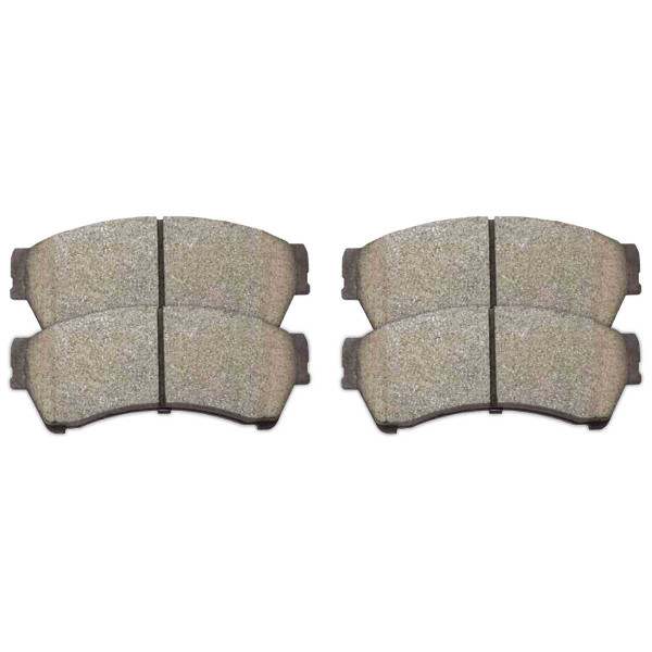Front Ceramic Brake Pad Set - Part # SCD1192