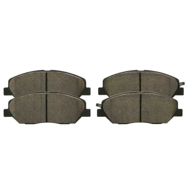 Front Ceramic Brake Pad Set - Part # SCD1202