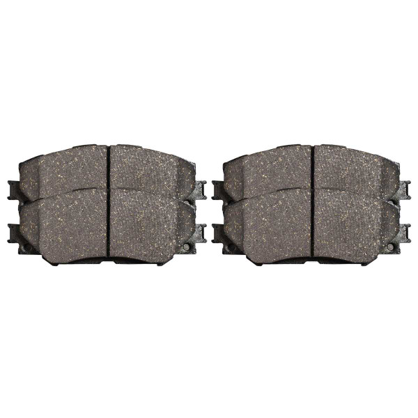 Front Ceramic Brake Pad Set - Part # SCD1210