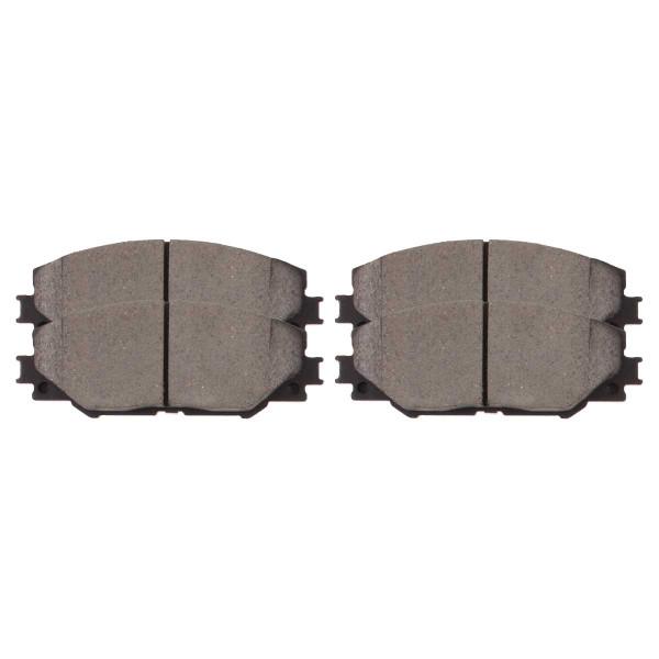 Front Ceramic Brake Pad Set - Part # SCD1211