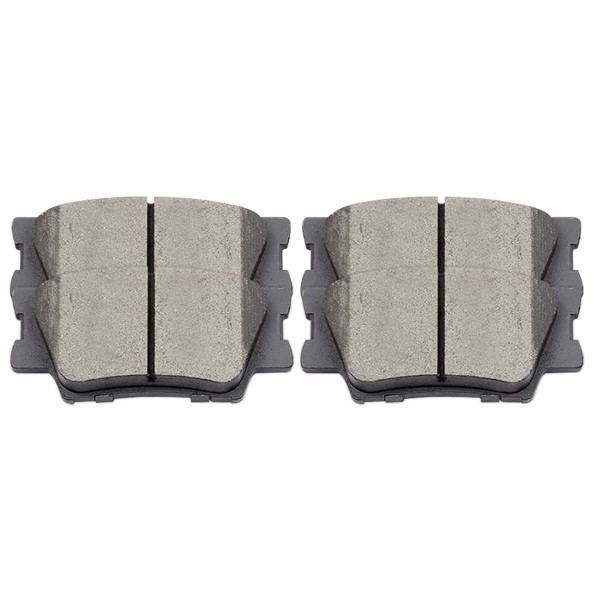 Rear Ceramic Brake Pad Set - Part # SCD1212