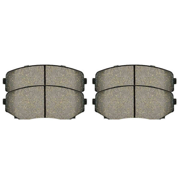 Front Ceramic Brake Pad Set - Part # SCD1258