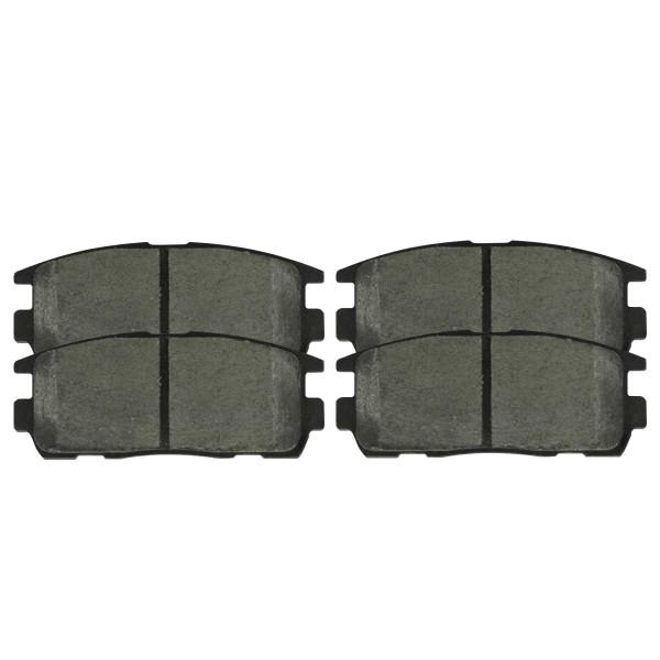 Front Ceramic Brake Pad Set - Part # SCD1264