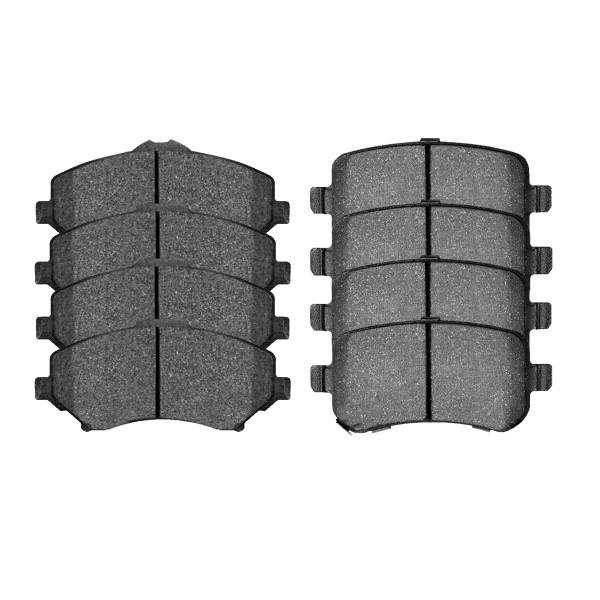 Front and Rear Ceramic Brake Pad Bundle - Part # SCD1273-1326