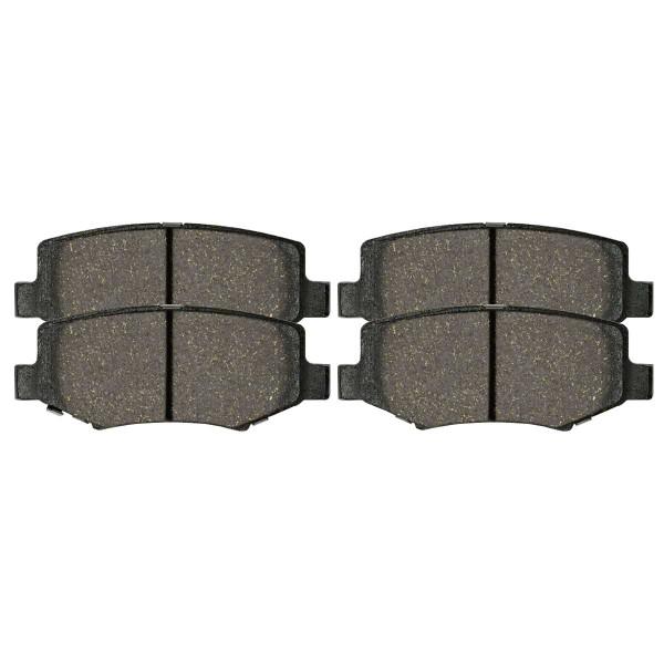 Rear Ceramic Brake Pad Set - Part # SCD1274