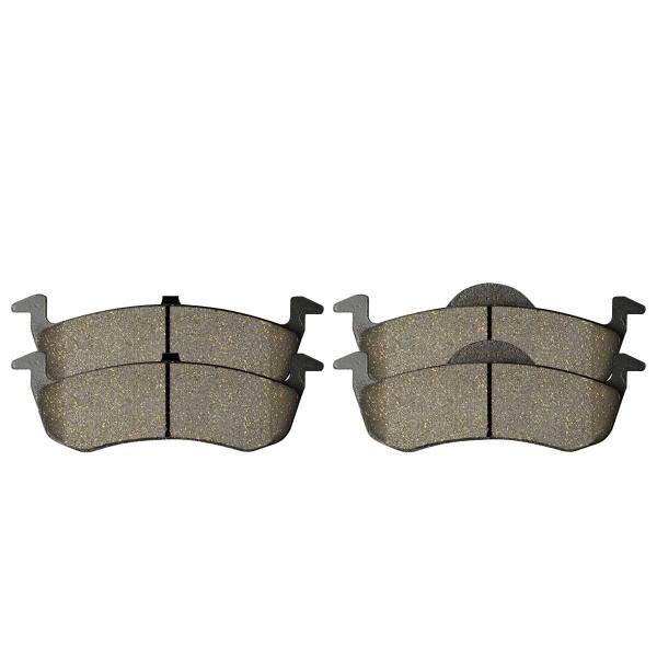 Rear Ceramic Brake Pad Set - Part # SCD1279