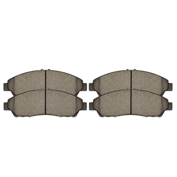 Front Ceramic Brake Pad Set - Part # SCD1280