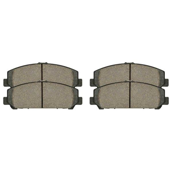 Front Ceramic Brake Pad Set - Part # SCD1286