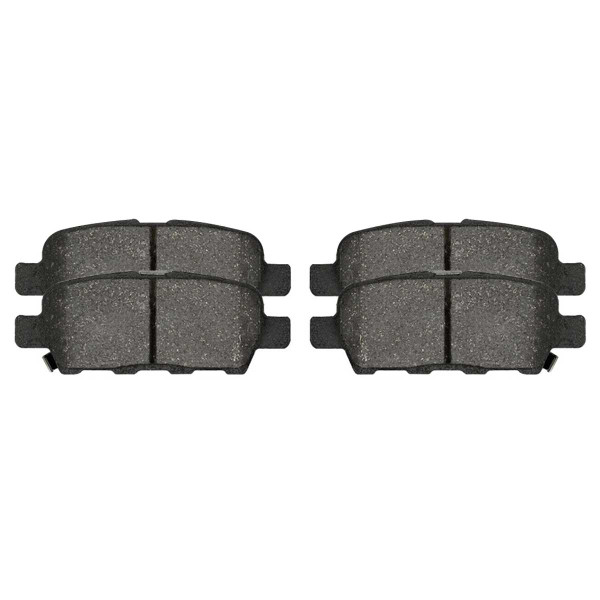 Rear Ceramic Brake Pad Set 4 Wheel Disc - Part # SCD1288