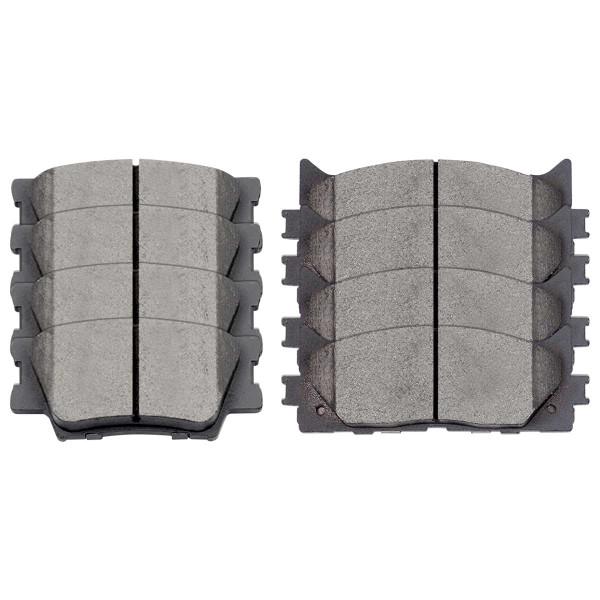 Front and Rear Ceramic Brake Pad Bundle - Part # SCD1293-1212