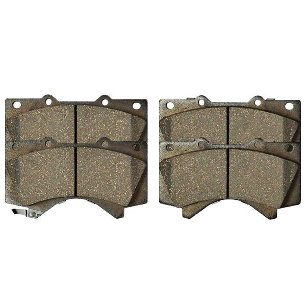 Front Ceramic Brake Pad Set - Part # SCD1303
