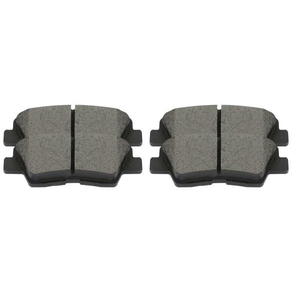 Rear Ceramic Brake Pad Set 4 Wheel Disc - Part # SCD1313