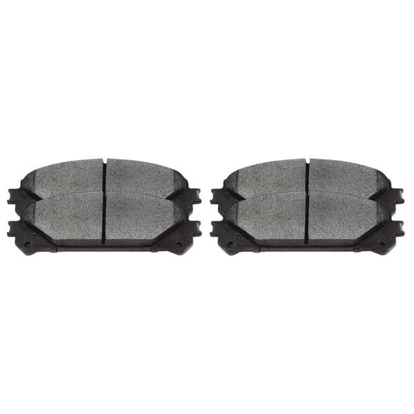 Front Ceramic Brake Pad Set - Part # SCD1324