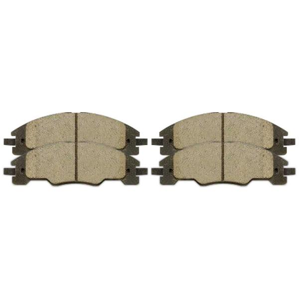 Front Ceramic Brake Pad Set - Part # SCD1339