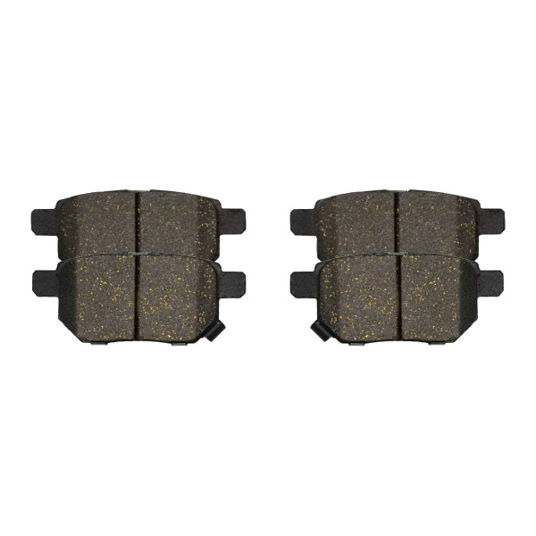 Rear Ceramic Brake Pad Set 4 Wheel Disc - Part # SCD1354