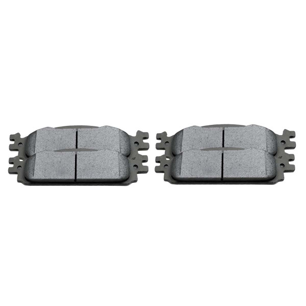 Front Ceramic Brake Pad Set - Part # SCD1376