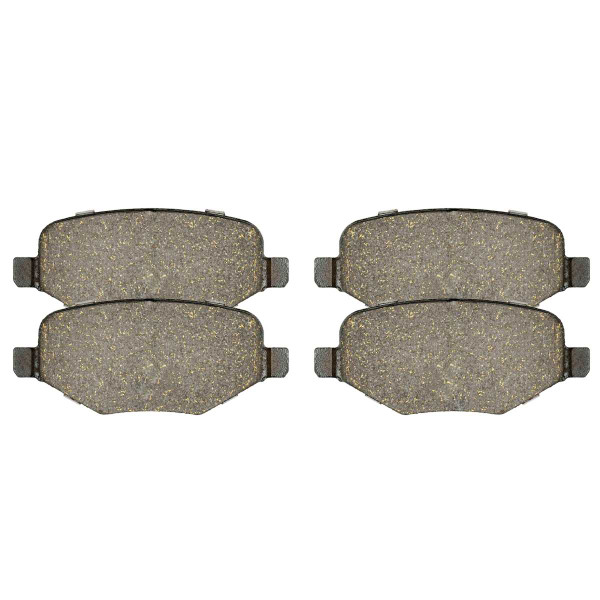 Rear Ceramic Brake Pad Set - Part # SCD1377