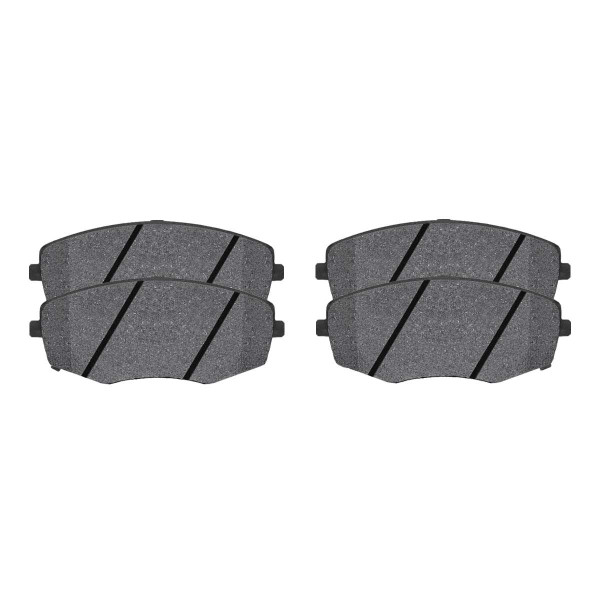 Front Ceramic Brake Pad Set - Part # SCD1397
