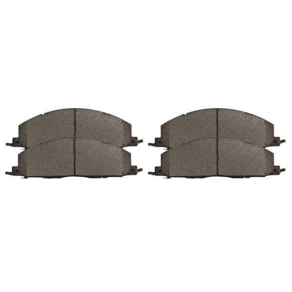 Rear Ceramic Brake Pad Set - Part # SCD1400