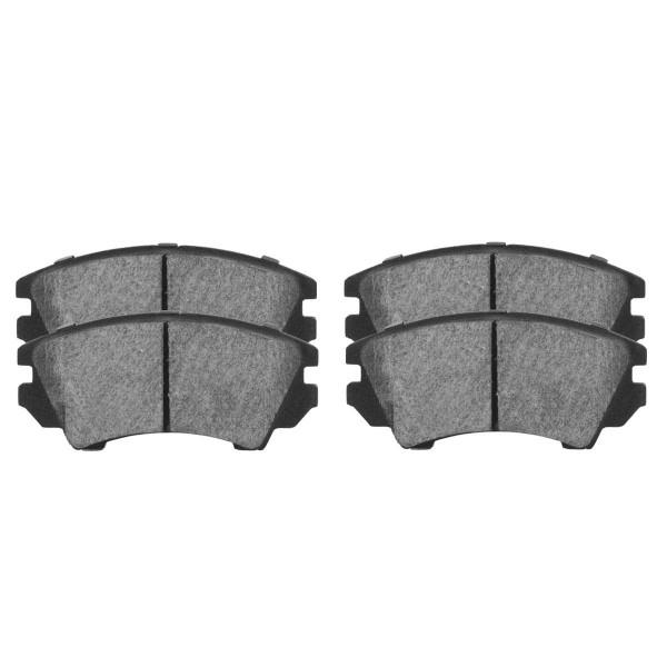 Front Ceramic Brake Pad Set - Part # SCD1404