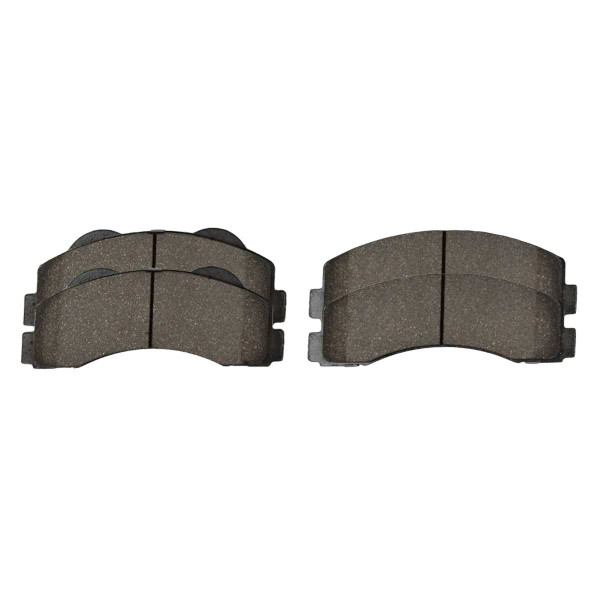 Front Ceramic Brake Pad Set - Part # SCD1414