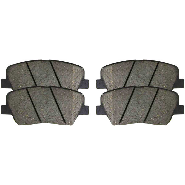 Front Ceramic Brake Pad Set - Part # SCD1432